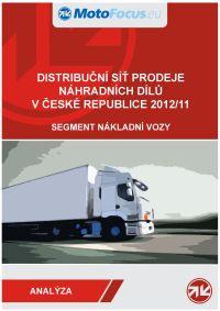 Distribuční síť prodeje náhradních dílů pro nákladní vozidla v České republice 2012/2011