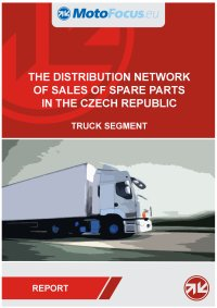 The distribution network of sales of spare parts in the Czech republic - truck segment