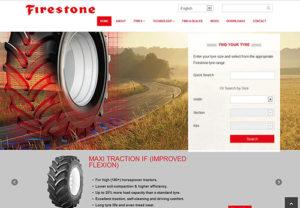 Firestone spustil novou evropskou webovou stránku pro zemědělské pneumatiky