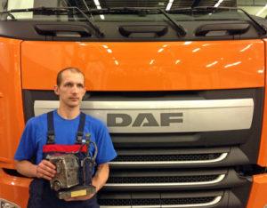 Mechanik roku DAF 2013 v České a Slovenské republice zná svého vítěze