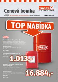 Trost: Cenová bomba Leden / Únor 2014