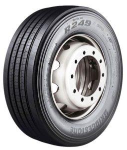 Nová nákladní pneumatika Bridgestone R249II EVO Ecopia pro vodící nápravy