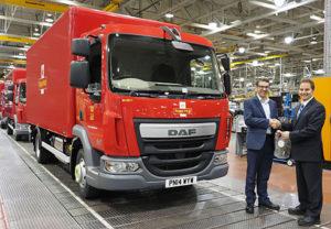 Společnost Leyland Trucks vyrobila pětitisící vozidlo DAF