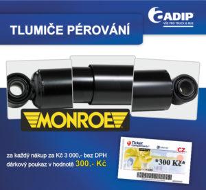 ADIP: Akce na tlumiče pérování Monroe