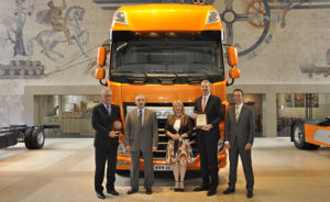 "DAF Euro 6 XF se stal polským ""Truck of the Year 2014"""