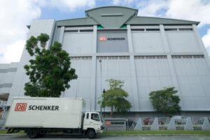Nový terminál DB Schenker v Singapuru získal nejvyšší ekologické ocenění