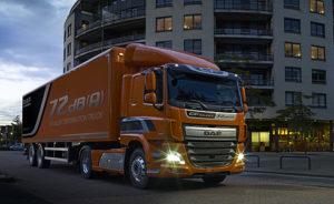Společnost DAF představuje mimořádně tiché rozvážkové vozidlo