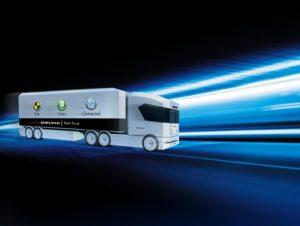 """Firma Delphi představila nový koncept """"Tech Truck""""  na hanoverském veletrhu užitkových vozidel (IAA)"""