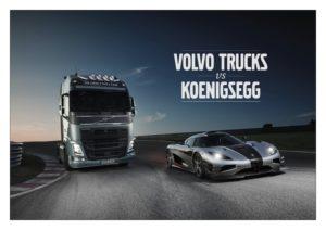 Tiff Needell vyzývá s nákladním vozidlem Volvo FH speciál Koenigsegg One:1 (+video)