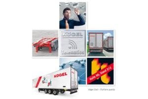 Společnost Kögel nabízí na veletrhu transport logistic 2015 nové služby
