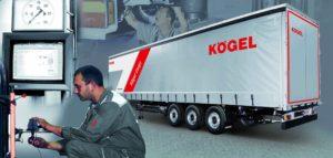 Správa vozového parku za pevnou cenu s komplexním servisem Kögel