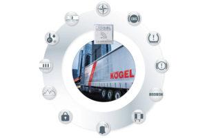 Společnost Kögel představuje vlastní telematický systém pro návěsy