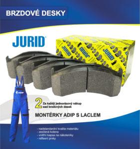 ADIP: Získejte montérky za nákup brzdových desek