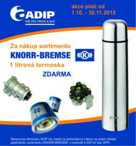 ADIP: Získejte termosku za nákup Knorr Bremse