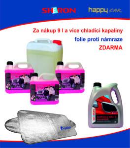 ADIP: Získejte fólii proti námraze za nákup chladících kapalin