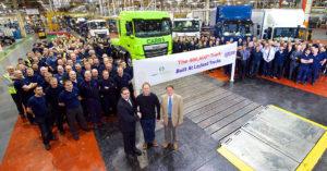 Společnost Leyland Trucks oslavila své 400.000 vyrobené nákladní vozidlo