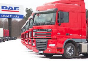 Ve Varšavě zahájilo provoz středisko DAF Used Truck Centre