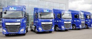 Společnost MD logistika rozšiřuje svůj vozový park o dalších deset tahačů DAF