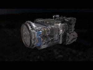 Nová převodovka I-Shift s plazivými převody zvládne z klidového stavu rozjet i 325 tun