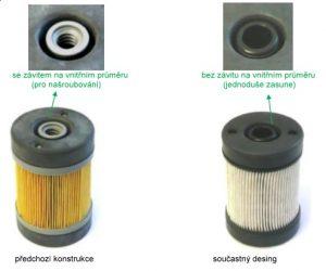 Montážní postup filtru močoviny u vozů Volvo Bus a Truck, Renault Truck, Iveco