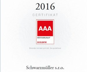 Ocenění Czech Stability Award 2016
