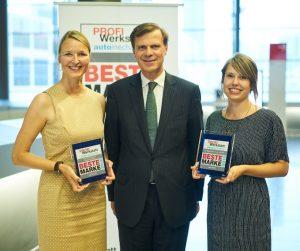 Společnost EUROPART získala od čtenářů časopisu PROFI Werkstatt dvě ocenění