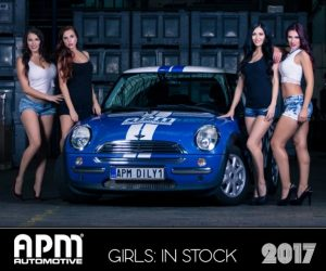 Kalendář APM Automotive 2017 - Girls: In Stock