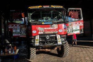 Dakar odstartoval se třemi kamiony MKR