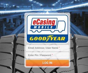 Goodyear vyvinul mobilní aplikaci eCasing Mobile