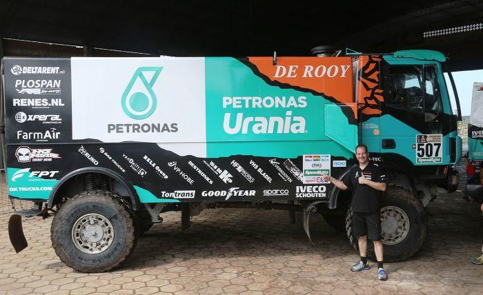 20161231:Asunsion-Paraguay: TEAM DEROOY READY FOR THE DAKAR 2017