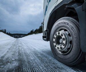 Pneumatika Nokian Hakkapeliitta Truck F2 pro řídicí nápravy