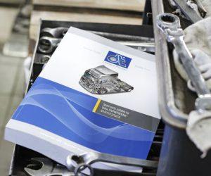 Katalog náhradních dílů DT Spare Parts pro nákladní auta a autobusy Volvo
