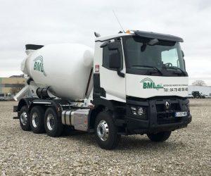Renault Trucks C8x4 Tridem domíchávač betonu