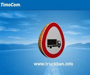 Zákazy jízdy nákladních vozidel během Velikonoc