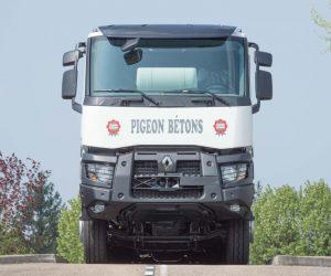 800.000 vozidlo Renault Trucks si převzala skupina Pigeon