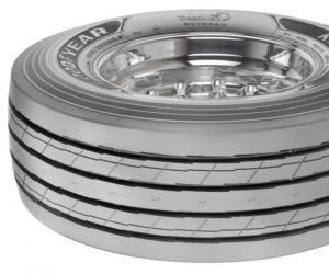 Nové pneumatiky Goodyear KMAX pro přívěsy s nízkou plošinou