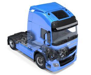 Změny v ložiscích SKF pro nákladní vozy