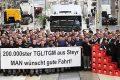 Z výrobní linky sjelo dvě stě tisící vozidlo MAN TGL/TGM