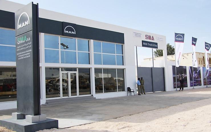 V mauritánském hlavním městě Nouakchott otevřel MAN svůj první servis na území této země