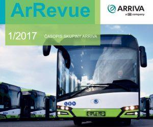 ArRevue 1/2017 časopis skupiny ARRIVA