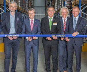 DACHSER otevřel nový sklad nedaleko rakouského Lince
