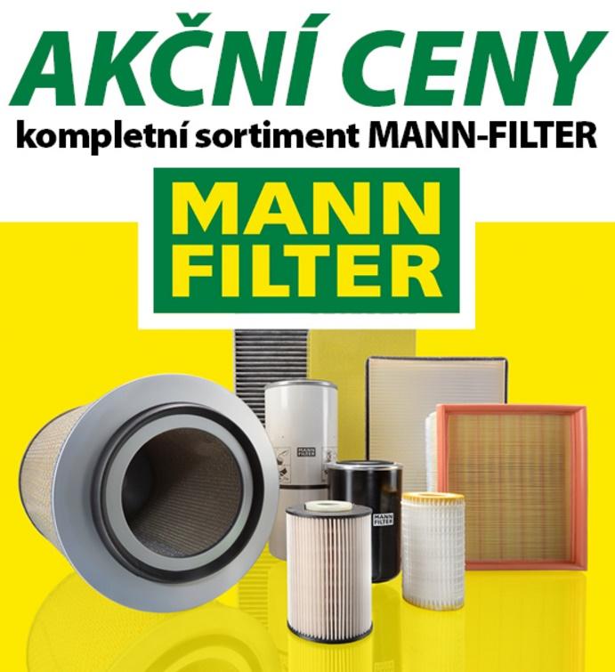 Akční ceny na kompletní sortiment MANN-FILTER