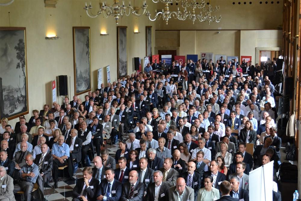 Setkání lídrů českého stavebnictví na Pražském hradě