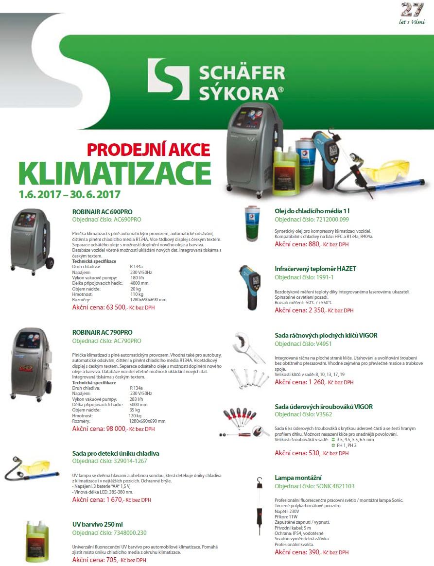 Prodejní akce na klimatizace