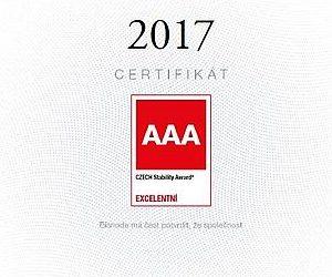 Ocenění Czech Stability Award 2017 pro Schwarzmüller