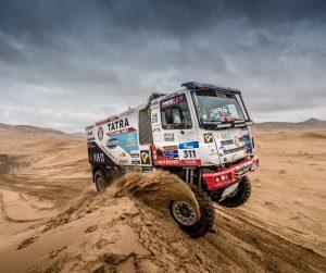 Kolomý na Silk Way Rally jede naplno až do konce