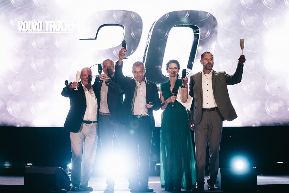 Volvo Trucks oslavilo 20 let stylově