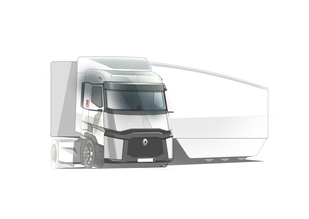 Nové předváděcí vozidlo Renault Truck v rámci projektu FALCON