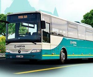 Nové plynové autobusy Arriva vyjíždí