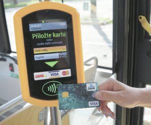 U ČSAD Havířov již brzy využijete bezkontaktní platební kartu